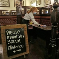Bars, restaurants and cafés to open to customers for the first time this year
