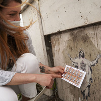 Vatican sued over street art stamp
