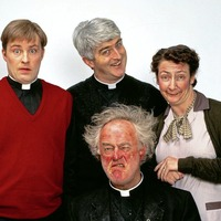 Father Ted creator hits out at Channel 4's decision to add racism warnings before some episodes