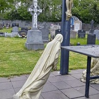 Police probe into 'despicable' vandalism at Ballymena cemetery