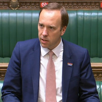 Matt Hancock 'sorry' for breaking social distancing rules by kissing aide
