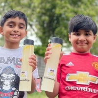 'LemonAid' boys, seven, thirsty for more success after £100,000 charity campaign