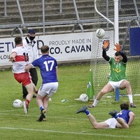 Derry hold their nerve to halt Cavan charge and maintain winning start