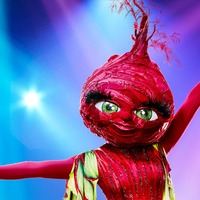 Beetroot revealed as another celebrity leaves The Masked Dancer