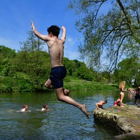 In pictures: Britons enjoy the sun on first day of summer