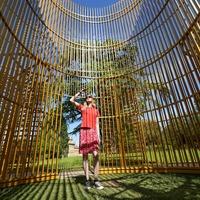 Ai Weiwei sculpture unveiled at Blenheim Palace