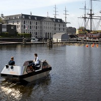 Amsterdam tests electric driverless boats on canals