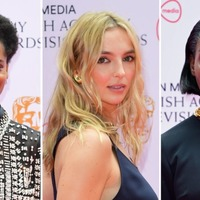 Stars of the small screen arrive on the red carpet ahead of Bafta TV awards