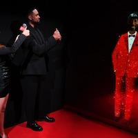 Fans appear on Bafta TV awards red carpet in hologram form