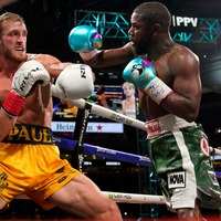 Logan Paul lasts the distance against Mayweather in exhibition boxing match