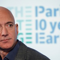 Jeff Bezos to be aboard for Blue Origin's first human space flight