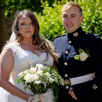 Fourth time lucky for Royal Navy couple forced to postpone wedding