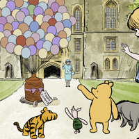 Winnie the Pooh celebrates shared 95th birthday with the Queen in new animation