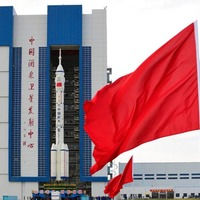 Rocket moves to launch pad as China prepares to send first crew to space station