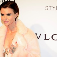 Ruby Rose encourages young LGBT people to embrace their sexuality
