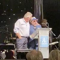 Ian Paisley Jnr and Sir Van Morrison's 'Robin Swann is very dangerous' chant slammed as 'embarrassing'