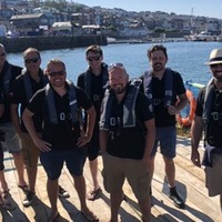Floating Cornish choir surprise TV host presenting from G7 summit