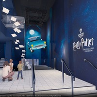 Behind-the-scenes photos from Harry Potter films to go on display