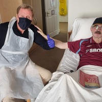 Harry Redknapp surprises fan at care home after manager chased him down street