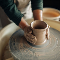 Pottery market in Belfast's Writer's Square on August 7&8