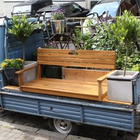 Motorised 'parklet' installed in Warwickshire town after previous version was removed by council