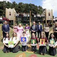 Artistic P7 pupils invited for tour of Stormont Estate