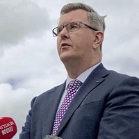 Sir Jeffrey Donaldson pledges support for power-sharing but warns of instability due to unionist opposition to the protocol