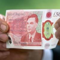 Alan Turing £50 banknote enters circulation