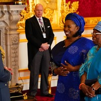 Covid heroes and soap stars honoured by Prince of Wales at St James's Palace