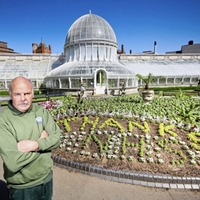 New flowerbed tribute to NHS unveiled at Botanic Gardens
