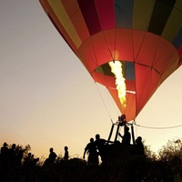 Passive investment hot air balloons