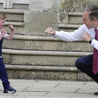 Family of boy (4) awaiting heart op hold `positive and hopeful' meeting at Stormont