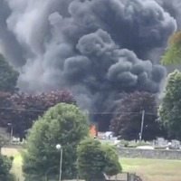 Two in hospital and four houses damaged after oil tanks rupture in Bessbrook fire