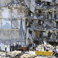 Florida rescuers stay hopeful about finding more survivors in rubble