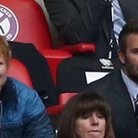 Stormzy, Ed Sheeran and David Beckham among stars cheering on victorious England