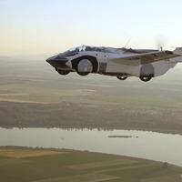 Flying car's first inter-city flight hailed as 'new era' of transport