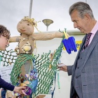 Edwin Poots launches initiatives aimed at eliminating plastic pollution and tackling marine litter