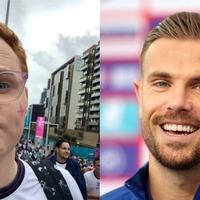 Non-binary England fan praises Jordan Henderson after 'really lovely' support