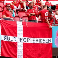 Pride and excitement 'goes beyond football' for Denmark fans heading to Wembley