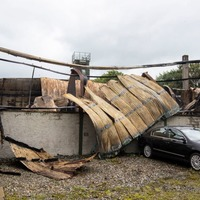 Lightning strike which destroyed Strabane business 'sounded like bomb going off'