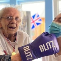 Care home residents boxing clever as they train for their own Olympics