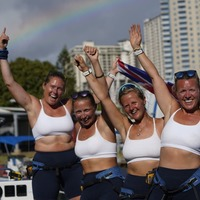 All-female British foursome claims Pacific rowing record
