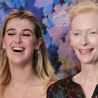 Tilda Swinton joins daughter Honor at Cannes Film Festival