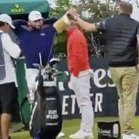 Police investigation under way after spectator takes club from Rory McIlroy's bag at Scottish Open