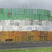 Sinn Féin MLA hits out at those responsible for painting bonfire in Tricolour colours