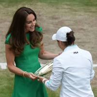 Kate and William congratulate Ashleigh Barty on Wimbledon win