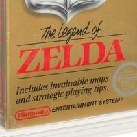 Unopened Legend of Zelda game from 1987 sells for 870,000 dollars