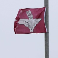 'Relief' as flags removed in mixed Saintfield Road area