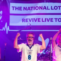 Fans joy as Baddiel and Skinner join gig ahead of Euro 2020 final