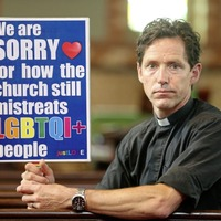 Rev Andrew Rawding believes church authorities will never accept him